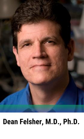 Dean Felsher, Ph.D., M.D.